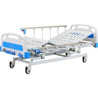 Buy cheap Three crank Manual Hospital bed simple bed from wholesalers