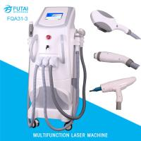Buy cheap FQA31-3 4in1 OPT e-light ipl rf nd yag laser hair removal multi functional beauty machine from wholesalers