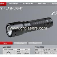Buy cheap CREE Led P7 8407 200LM FOCUS Zoonable Tactical CAMPING Flashlight Hand Torch outdoor tool Made In China from wholesalers