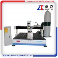 Buy cheap 4 axis desktop CNC Router engraver machine with dust collector ZK-1218-2.2KW from wholesalers