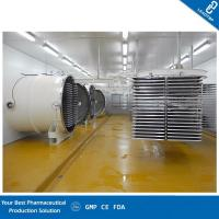 Buy cheap Freeze Dried Fruit Machine / Industrial Freeze Drying Machine Efficient Heating Plates from wholesalers