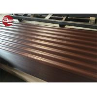Buy cheap Prepainted Corrugated Galvanized Sheet Metal Profile Roofing Sheets With Ce Certificate from wholesalers