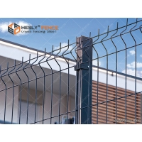 Buy cheap H2.5m high Welded Wire Mesh Fence for Airport Perimeter Security With BTO-22 Concertina Razor Coil from wholesalers
