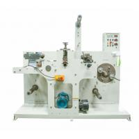 Buy cheap 320/420high speed Industrial tape/paper/copper/aluminum foil rotary label slitting machine from wholesalers
