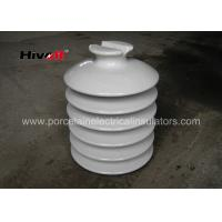 HIVOLT 36kV White Porcelain Insulators , High Voltage Porcelain Insulators
