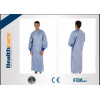 Buy cheap Customized Disposable Surgical Gowns PP/SMS/SMMS Colorful Uniform With CE/ISO/FDA from wholesalers
