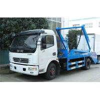 Buy cheap Swing Arm Garbage Waste Removal Trucks Carbon Steel Waste Transport With 5CBM Hopper product
