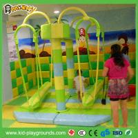 Buy cheap CE Children Indoor Playground Swing by electric Soft Play for children's Park from wholesalers