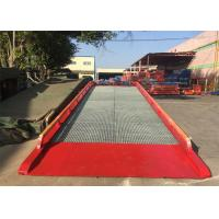 Buy cheap 32#   H  Beam Mobile Container Dock Ramp With Adjust Range 1200 ~ 1700mm from wholesalers