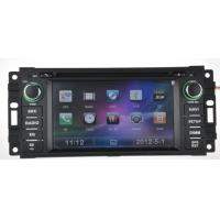 Buy cheap JEEP / DODGE / CHRYSLER Automobile DVD Players With Radio And Bluetooth from wholesalers