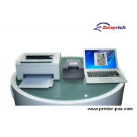 Buy cheap Duplex scanning Name / ID Card Record Double Sided Card Scanner for Office from wholesalers