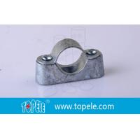 BS31 / BS4568 Conduit Fittings 20mm Malleable Iron Heavy Duty Distance Saddle With Base