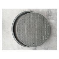 Buy cheap D500-1 Round composite manhole covers 500*30mm anti-corrosion drain covers with manhole frame from wholesalers
