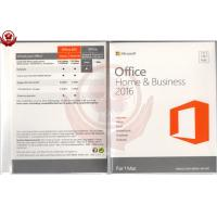Buy cheap Genuine Office 2016 home and business for mac PKC version software from wholesalers