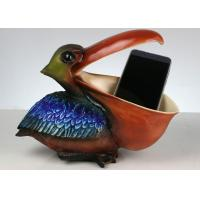 Buy cheap Toucan Non Toxic Resin Crafts , Creative Mobile Phone / Keys / Card Holder from wholesalers