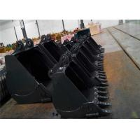 Buy cheap Wearable Excavator Rock Bucket Digger Spare Parts 1- 8 Cubic Meter Anticorrosive from wholesalers
