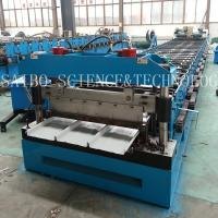 Buy cheap LYSAGHT KLIP-LOK 406 Roll Forming Machinery Manufacture with 40GP Container from wholesalers