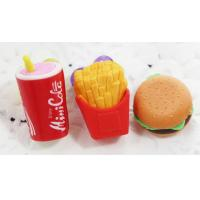 Buy cheap china 3D food eraser for gift use for kids,safety material from wholesalers