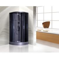 Buy cheap Dark Grey Profiles Quadrant Shower Cubicles , Curved Corner Shower Units from wholesalers
