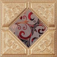 Buy cheap imitation tile wall panel Quality-assured faux leather Building supply from wholesalers