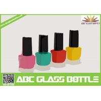 Buy cheap hot design 8 ml square shaped pure glass nail enamel packing bottle from wholesalers