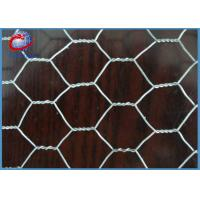 Buy cheap Woven Galvanized Chicken Wire Garden Fence For Cages 0.5 X 10m X 25 X 25mm product