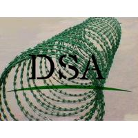 Buy cheap Anping factory height quality PVC coated razor barbed wire netting fence from wholesalers