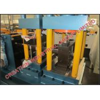 Buy cheap Hi-Tensile Galvanised Steel Z Purlin Roll Forming Machine with Auto Decoiler from wholesalers