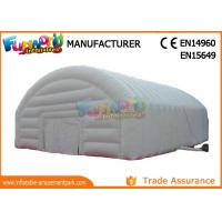 Buy cheap Party Air Dome Inflatable Camping Tent Commercial Grade PVC Tarapaulin Material from wholesalers