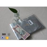 Buy cheap Non Itchy Fiberglass Fabric Fire Resistant Document Pouch / Fireproof Cash Envelope from wholesalers