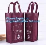 Buy cheap quality supplier durable non-woven Reusable Polypropylene non woven wine bag, Fashion fancy wine bag/insulated non woven from wholesalers