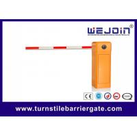 Buy cheap Remote Control automatic parking barrier gate with straight boom for parking system from wholesalers