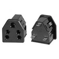 Buy cheap India Type D Electrical Plugs And Sockets 6A 240V AC 3 Pin Triangular Outlet 50 Hz from wholesalers