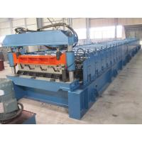 Buy cheap High Precision Metal Deck Roll Forming Machine / Steel Deck Roofing Machine from wholesalers