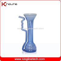 Buy cheap Unique shape and popular models clear plastic 650ml goblet water bottle with straw (KL-GT002) from wholesalers