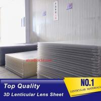Buy cheap China 3D Lenticular Lens Sheet clear PS Lenticular 20 lpi Lens Sheet 3MM flip Lenticular Lens Sheet factory from wholesalers