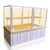 Buy cheap Modern Design Pastry Display Case , Glass Bakery Display Case Customized Size from wholesalers