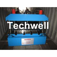 Buy cheap Corrugated Metal Sheet Roof Roll Forming Machine For 0.18mm, 0.2mm Roofing Sheet from wholesalers