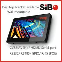 Buy cheap 7 Inch Android Monitor With Ethernet, WIFI, Web Browser For HVAC Control System integrator from wholesalers