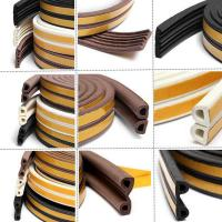 Buy cheap rubber door seal self adhesive rubber strip from wholesalers