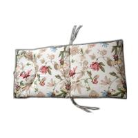 Buy cheap flower printing tufted lounge cushion with 2 sets tie from wholesalers