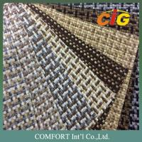 Buy cheap Anti - Static Luxury Woven Sofa Fabric , Home Textile Products 100% Polyester product