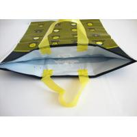 Large Custom Printed Plastic Merchandise Bags With Handles Moisture Proof