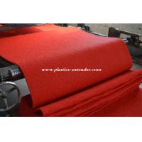 Buy cheap Plastic Floor Mats Production Line , PVC Materials Carpet Making Machine from wholesalers