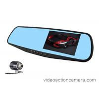 Buy cheap Rearview Mirror Dvr Road Dash Video Camera With Parking Mode , 12 Million Pixels from wholesalers