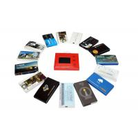 Buy cheap Automatic lcd video brochure card for holiday greetings , 1G / 2G lcd video mailer from wholesalers
