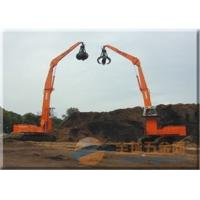 Buy cheap Earthmoving Hydraulic Orange Peel Grab Doubl Shell CAT Excavator Attachments from wholesalers