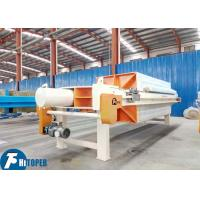Buy cheap Industrial Automatic Filter Press , Wastewater Treatment Filtration Equipment from wholesalers