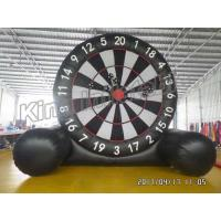 Buy cheap New Giant  Soccer Game Inflatable Sports Games Football Dart Board from wholesalers