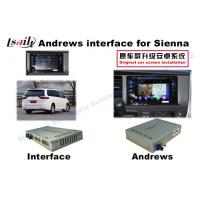 Buy cheap Sienna  Android Auto Interface 3 - Road Navigation Video Interface from wholesalers